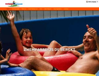 zwemparadijsdeberckt.nl screenshot