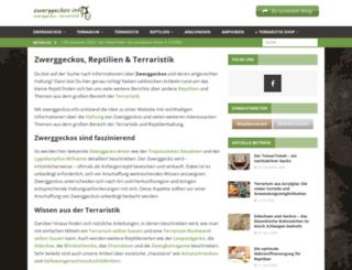 zwerggeckos.info screenshot