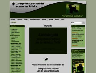 zwergschnauzer-von-der-schwarzen-bruecke.de screenshot