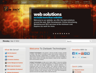 zwibaek.com screenshot