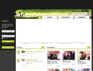 zwigge.de screenshot