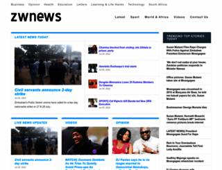 zwnews.com screenshot