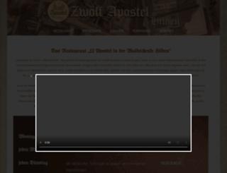 zwoelfapostel-hilden.de screenshot