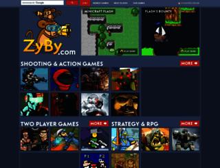 zyby.com screenshot