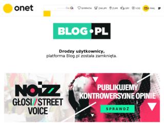 zycie-jest-snem.blog.pl screenshot
