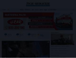 zyciesiedleckie.pl screenshot