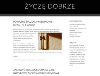 zyczedobrze.wordpress.com screenshot
