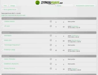 zydecoforce.com screenshot