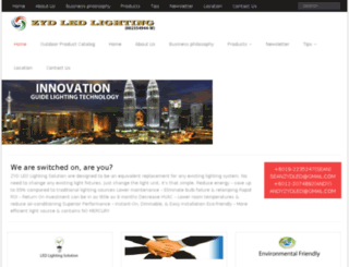 zydledlighting.com screenshot