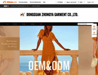 zyfashion.en.alibaba.com screenshot