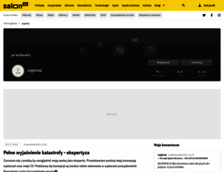 zyga.salon24.pl screenshot