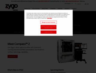 zygo.com screenshot