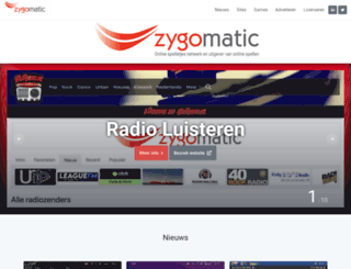 zygomatic.nl screenshot