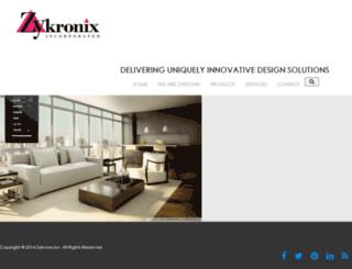 zykronix.net screenshot
