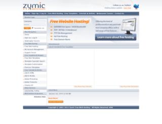 zymic.com screenshot