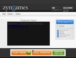 zyngames.net screenshot