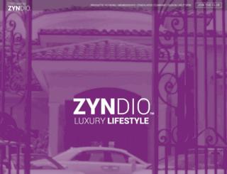 zyntravel.com screenshot
