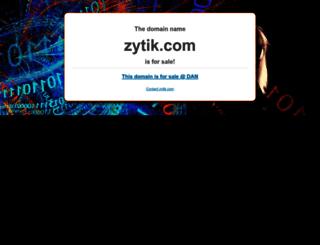zytik.com screenshot