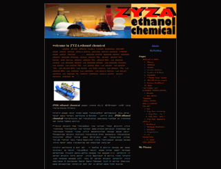 zyzaethanolchemical.wordpress.com screenshot