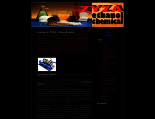 zyzaethanolchemical.wordpress.com screenshot