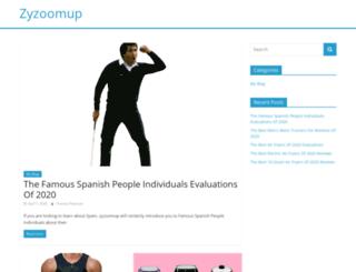zyzoomup.com screenshot