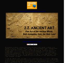 zzancientart.com screenshot