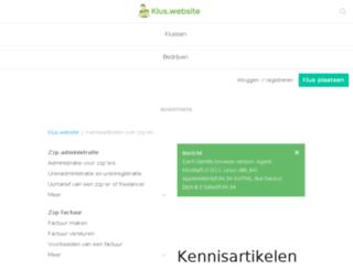 zzp.zzpnodig.nl screenshot