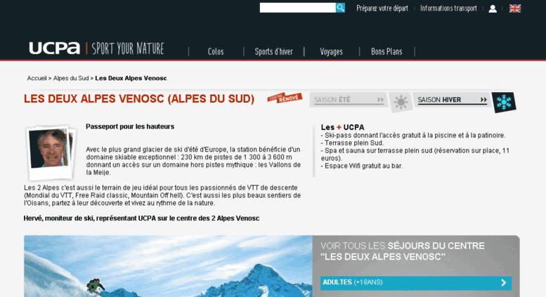 Access 2alpes Venosc Ucpa Com Les Deux Alpes Vernosc Ski