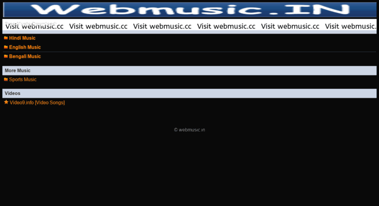 Music download website templates free download 50 amazing band.