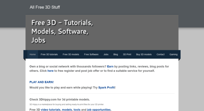 Access 3d-freebly weebly com  All Free 3D Stuff - Free 3D Stuff