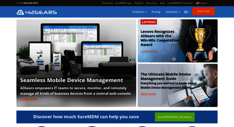 Access 42gears com  Unified Endpoint Management | Mobile
