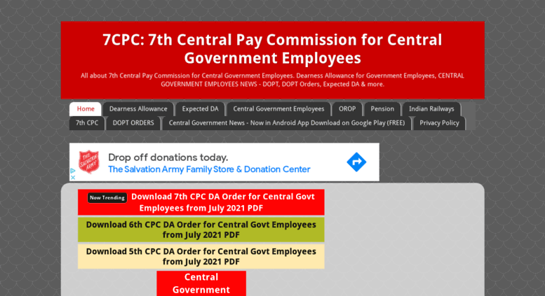 Access 7cpc in  7CPC: 7th Central Pay Commission for Central