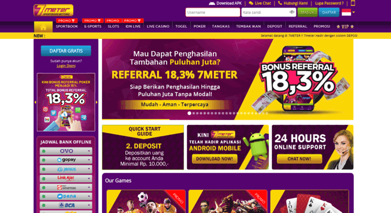 Access 7meter com  Bandar Agen Taruhan Judi Bola SBOBET Online