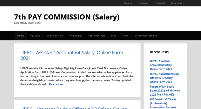 Access 7thpaycommissioninfo in  7th Pay Commission FAQ - 7th