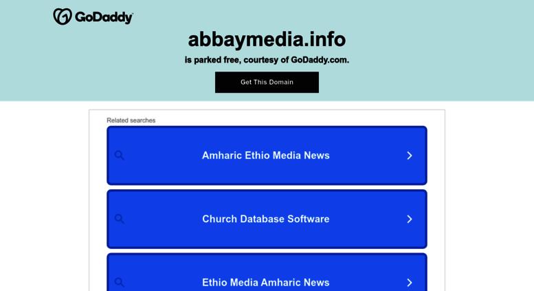 Access abbaymedia com  Abbay Media | Abbay Media – Ethiopia News
