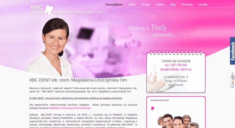 Access Abc Denteu Dentysta Stomatolog Wybielanie Zębów Poznań