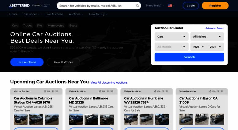 Online Car Auctions >> Access Abetter Bid A Better Bid Online Car Auctions