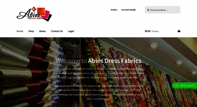 Access Abiescoza Abies Dress Fabrics