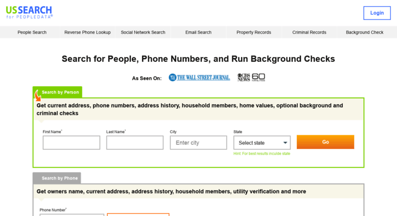 find current phone numbers for people