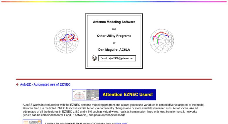 Access ac6la com  AC6LA Software