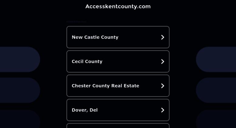 Access accesskentcounty com  Search Results for