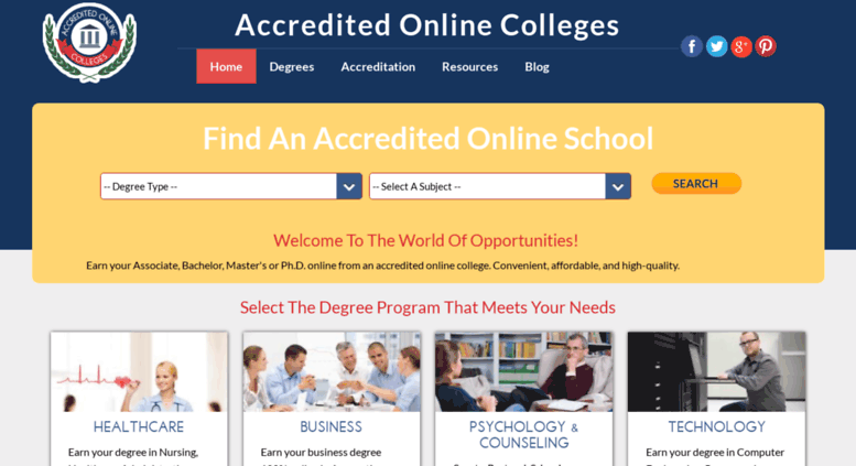 Accredited Online Colleges >> Access Accredited Online Colleges Com Best Accredited