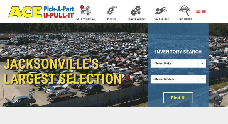 Used Auto Parts Jacksonville Fl >> Access Acepickapart Com Used Auto Parts Junk Car