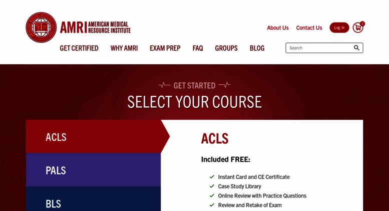 amri acls bls pals certification accessify
