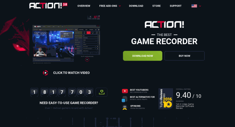 Access actionrecorder com  Action! - Game Recorder and