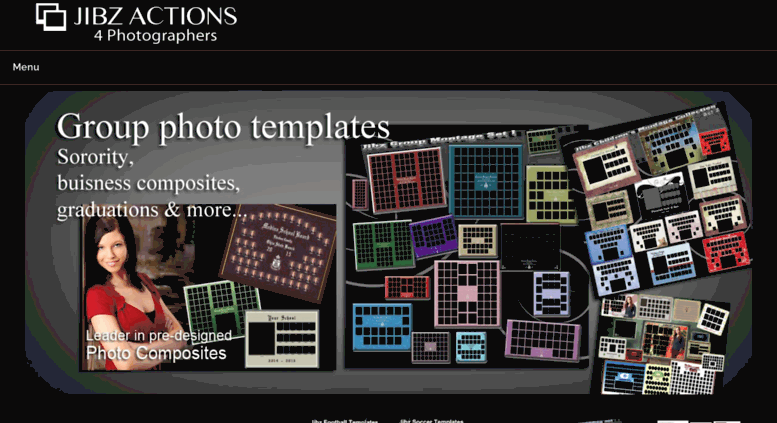 Access Actions4photographers Fraternity Montage Templates