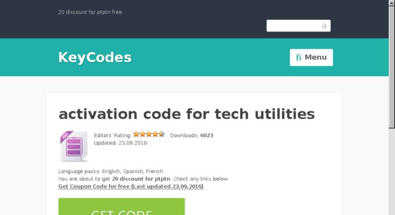 Access activation-code-for-tech-utilities xmemes ru  Activation code