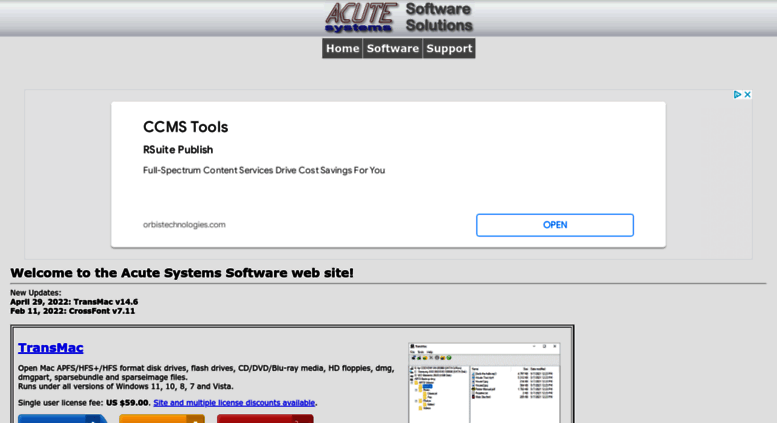 Access acutesystems com  Acute Systems Home Page