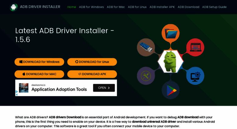 Access adbandroid com  ADB installer 1 4 2 for download ADB