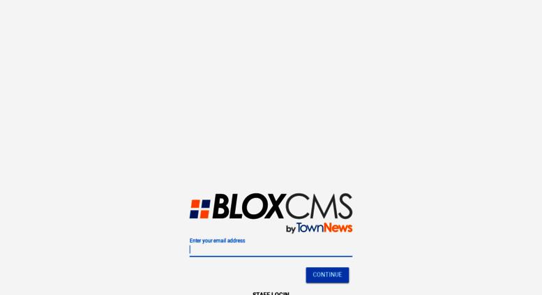 blox cms admin